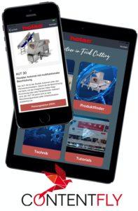 Umsetzung Vertriebsapp für holac | Heidenheim/Nattheim