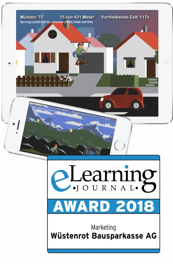 Entwicklung Online-Spiel E-Learning Serious Game