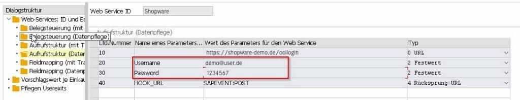 SAP OCI Punchhout Shopware 6